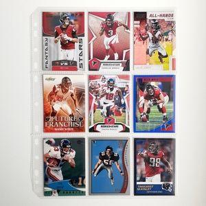 Atlanta Falcons 9 Card Lot [FBL2_1]